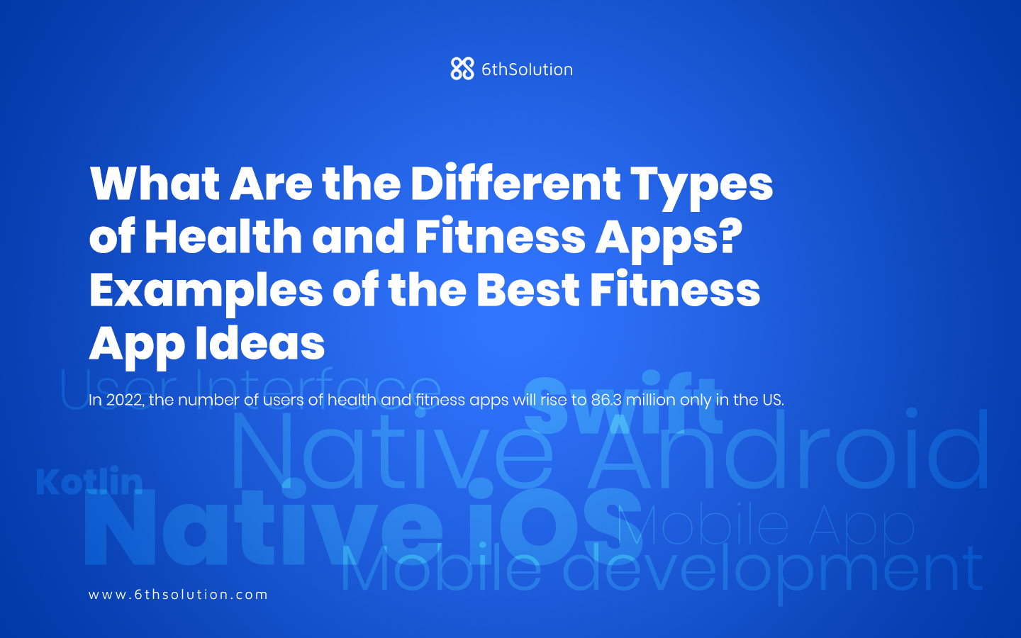 Types of Health and Fitness Apps